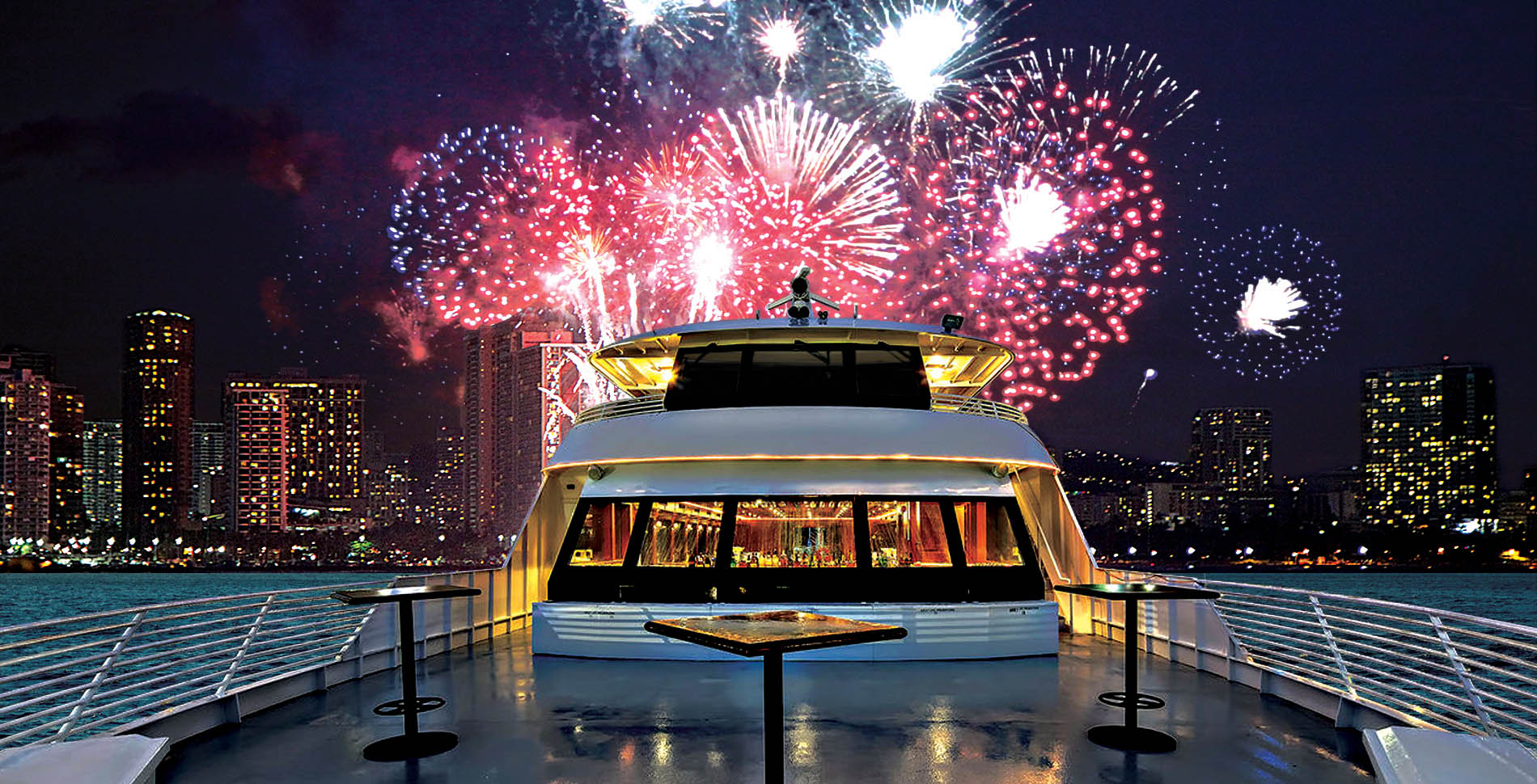 Friday Night Fireworks Cruise |  Waikiki Activities