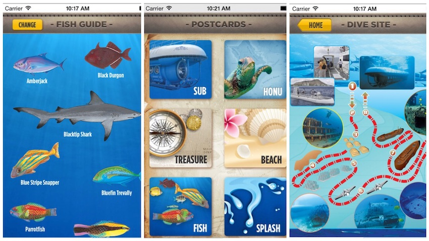 Partner Up With The Atlantis Submarines iPhone App